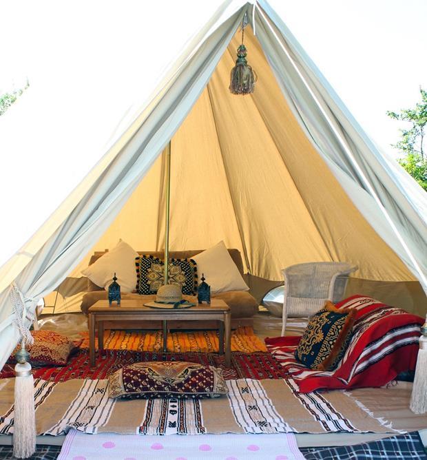 Glamping sátor