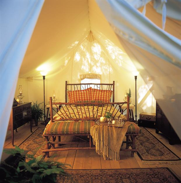 Glamping fekvőhely