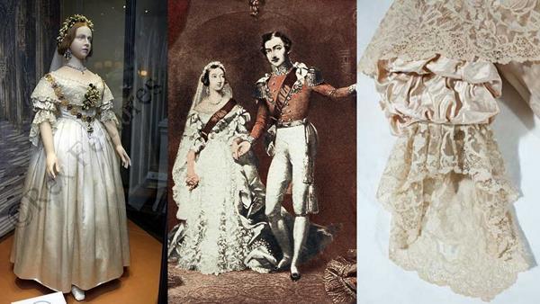 Fehér esküvői ruha régen
